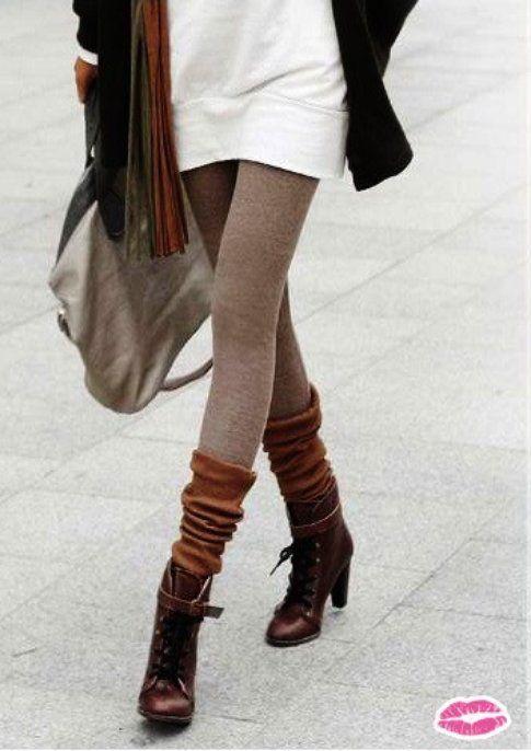 Calzettoni e stivali