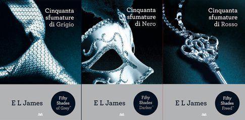 La trilogia 5 sfumature di E. L. James