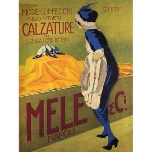 una pubblicità dei Mele