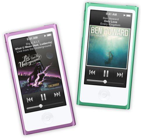 Nuovi iPod Nano
