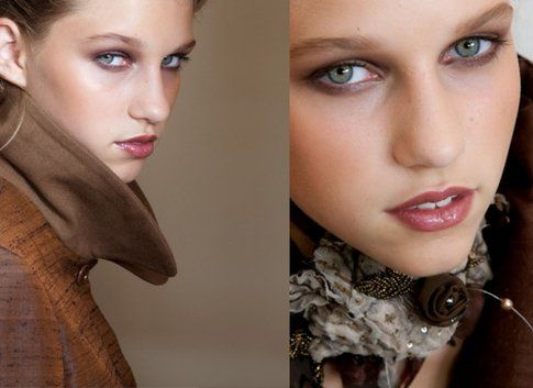 Marrone: l'alleato per un make up elegante!