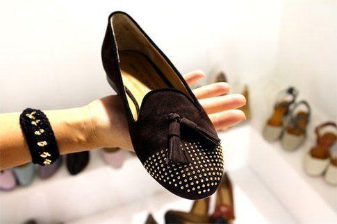 Un modello di calzatura di Di Martino