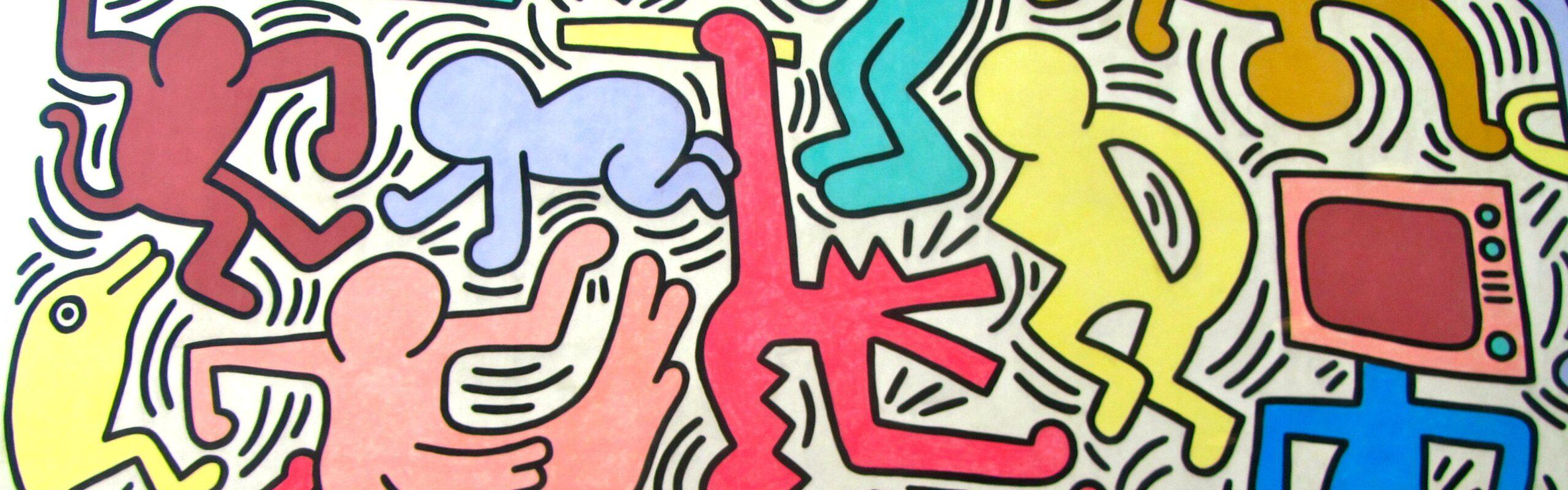 Tuttomondo di Keith Haring a Pisa: la mostra a Palazzo Blu e il murales