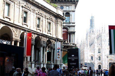 il Duomo che fa da cornice