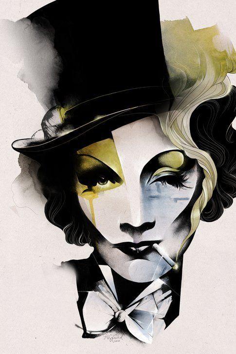 Marlene Dietrich - Alexey Kurbatov