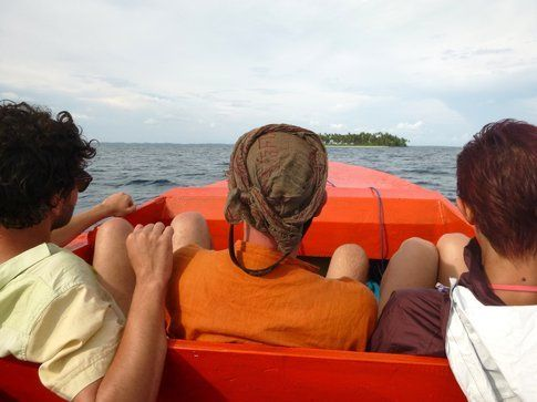 Gita in barca alle isole Banyak