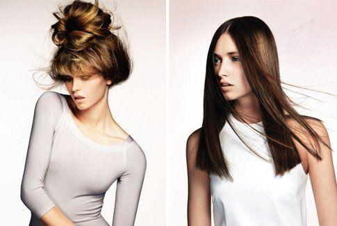 effetto Flamboyage sui capelli castani