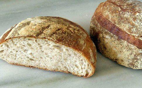 pane fatto con pasta madre