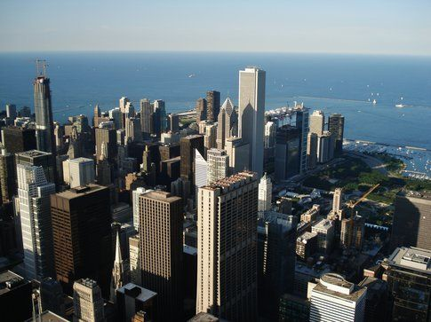 Skyline di Chicago dalla Willis Tower