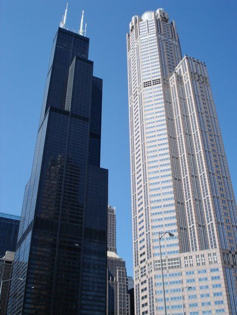 Willis Tower (a sinistra)