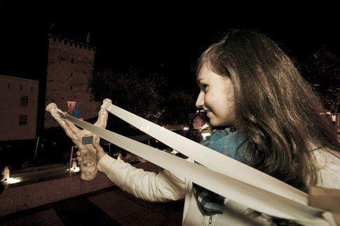 SMSlingshot, un progetto VR/ Urban. Digita e spiaccica il tuo messaggio