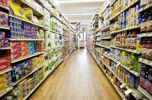 corsie di un supermercato