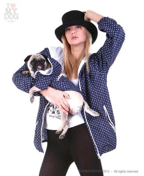 Impermeabili coordinati per cane e padrona