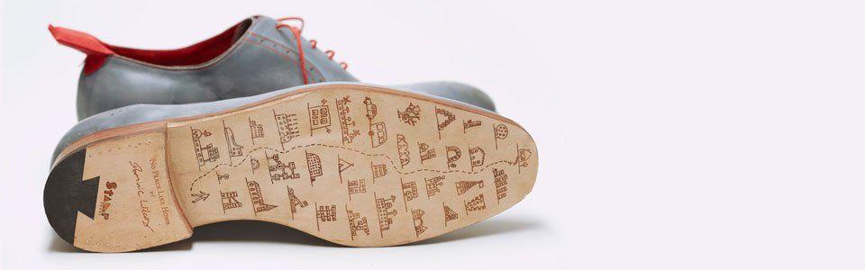 Dominic Wilcox e le scarpe con il GPS