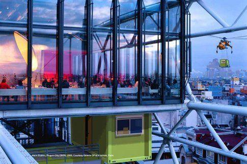 Le Georges Restaurant, Centre Pompidou