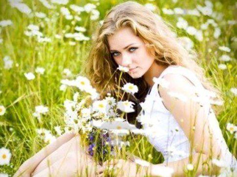 Schiariti con i fiori di comomilla!