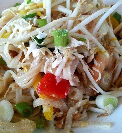 Pad Thai di pollo