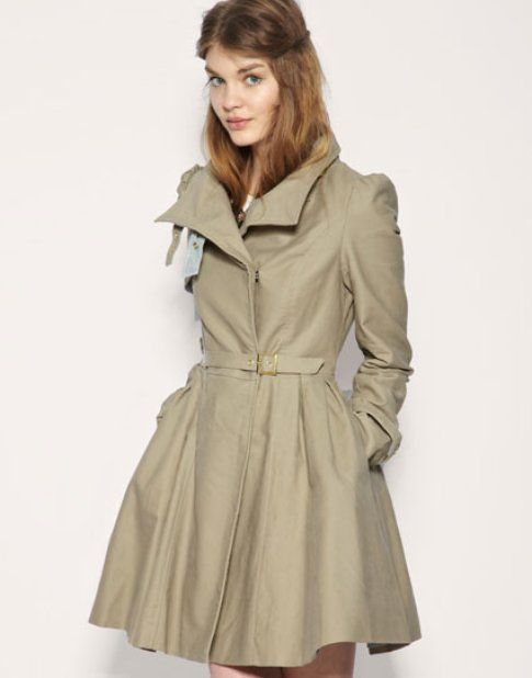 trench asos