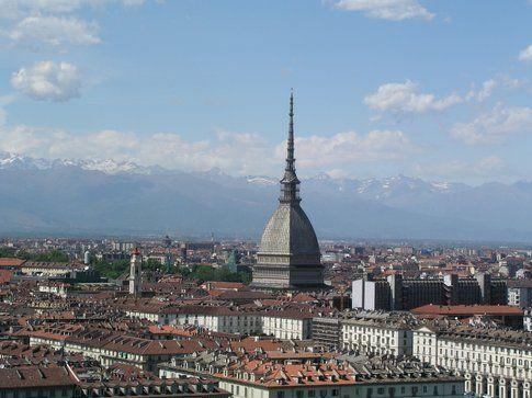 Vista della città con Mole Antonelliana