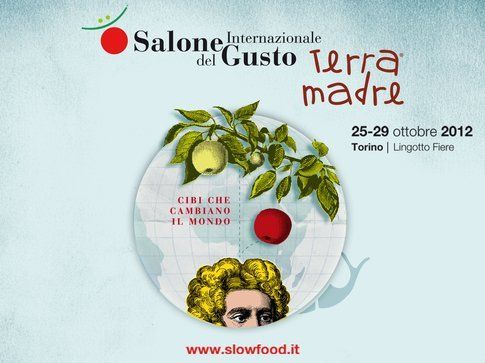 manifesto del Salone Internazionale del Gusto 2012