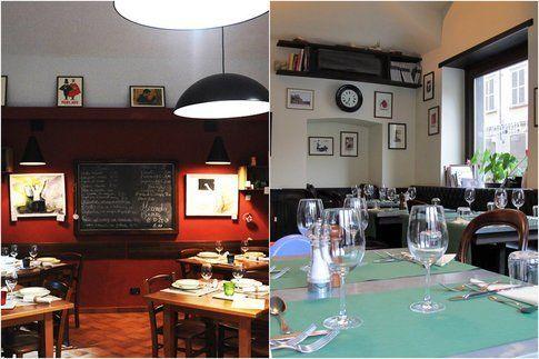 i ristoranti: la piola e scannabue