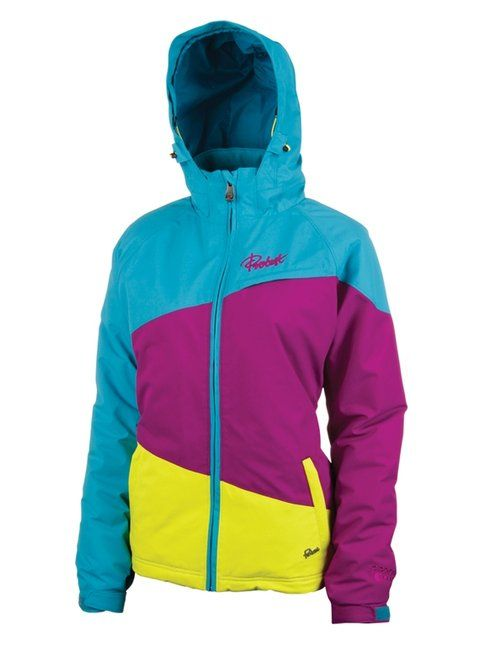 Colori fluo per la giacca tecnica Rocha di Protest a 175€