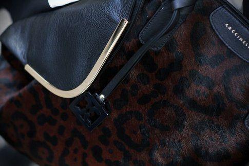 la mia borsa leopardata