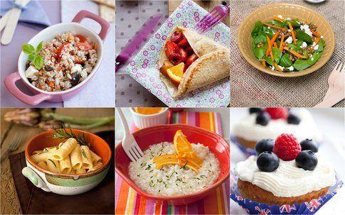 mix di ricette di Sonia nel paese delle stoviglie (foto realizzate da Sonia)