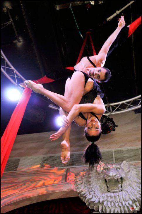 Artisti circensi del Monferrato Circus