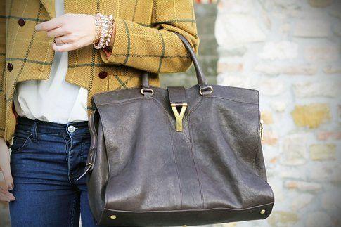 Un dettaglio della borsa