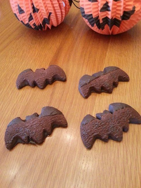 Particolare dei Bat-biscotti