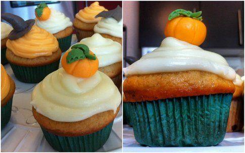 collage cupcakes di halloween