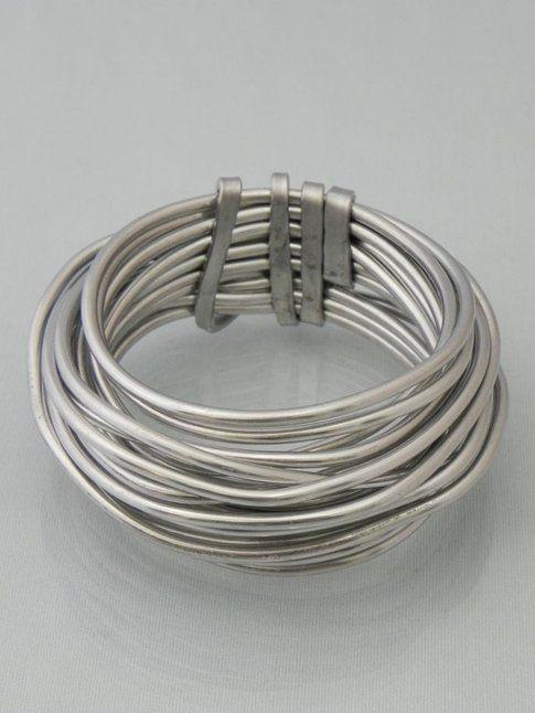 Bracciale in alluminio, Fabrizio Reginato