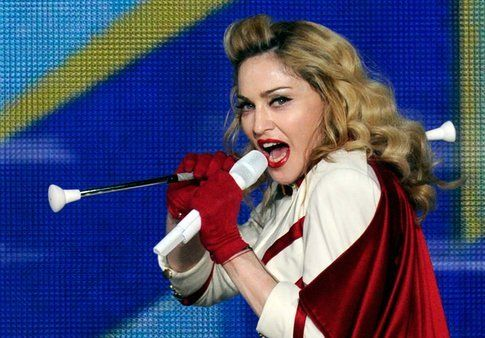 Madonna in concerto a New Orleans
