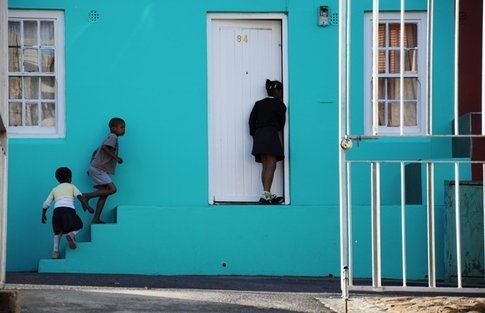 Bo-Kaap, il quartiere musulmano di Cape Town