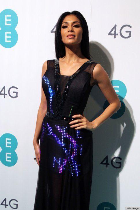 Nicole Sherzinger indossa il Twitter Dress