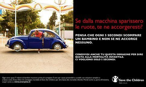 La campagna save the children