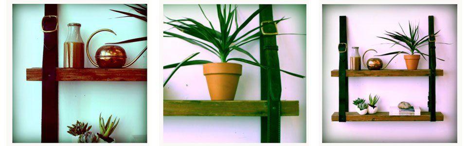 Pezzi di legno e cinture: rebus o mensola? Un tutorial!