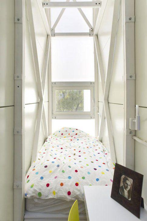 Casa Keret - camera da letto