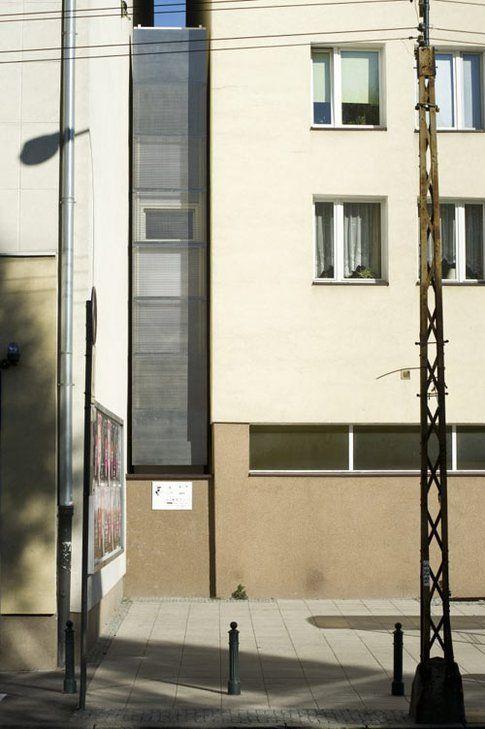 Casa Keret - esterno