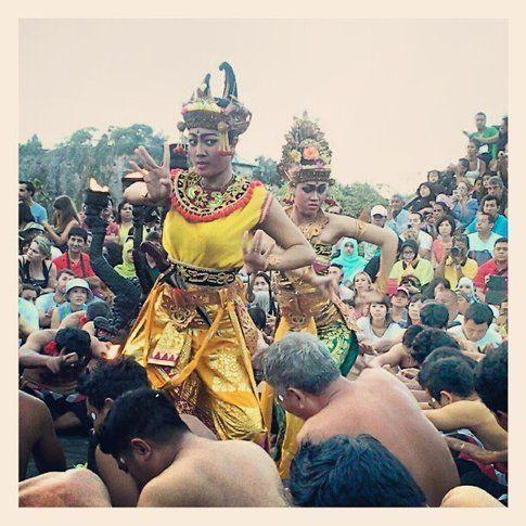 Kecak dance ad Ulu Watu Temple