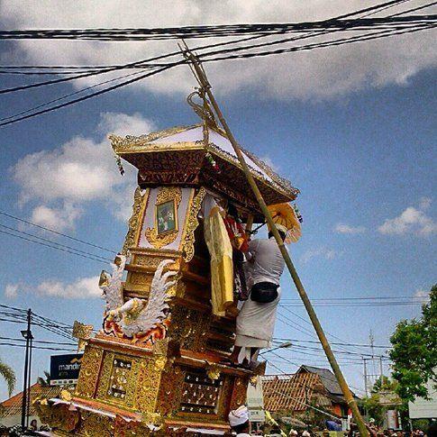 Cerimonie per la cremazione - Bali