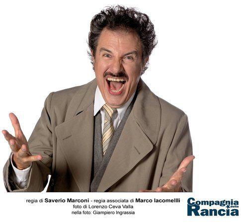 Giampiero Grassia è il Dr. Frankenstein