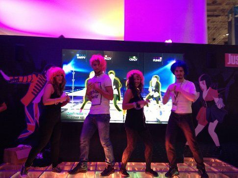 Le parrucche di Just Dance 4