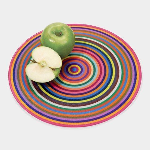 Colorful Rings Cutting Board di Antony Joseph