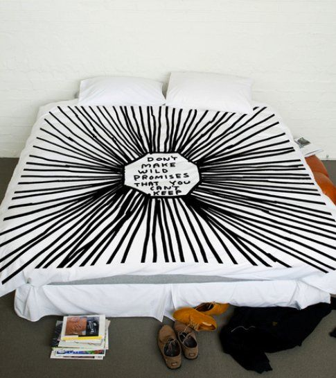 David Shrigley Queen Size Duvet
