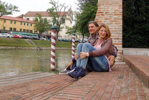 Irene con suo marito