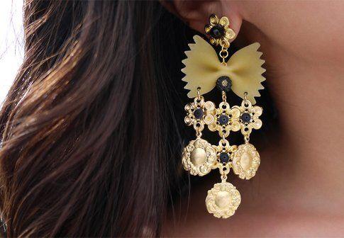 Dolce e Gabbana orecchino in pasta