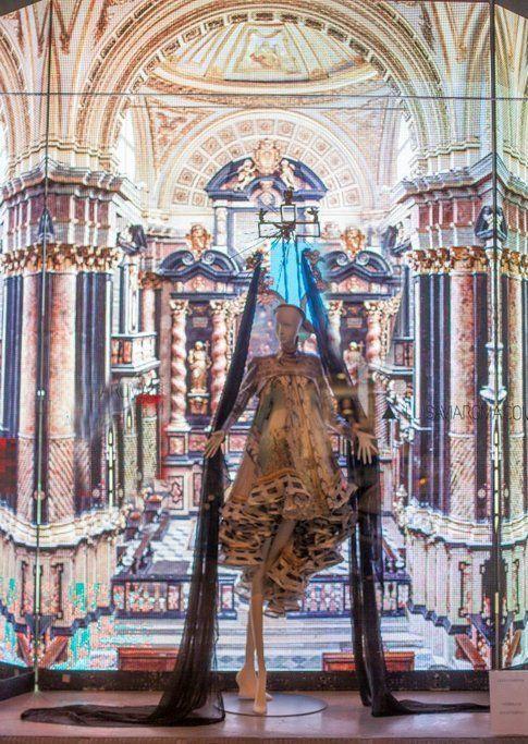 La vetrina blasfema