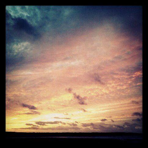 I tramonti non si sprecano